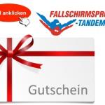 Gutschein Box Fallschirmspringen