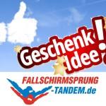 Freiluft Geschenk Fallschirmsprung