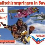 Flugtage Cham Fallschirmspringen