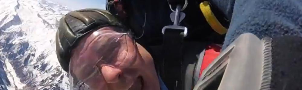 Tandemsprung Erding Kunde in Zell am See