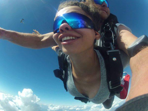 Fallschirm Sprung