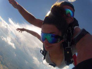 Fallschirm springen Gutschein