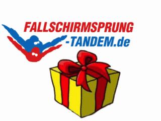 Geschenk Tandemsprung